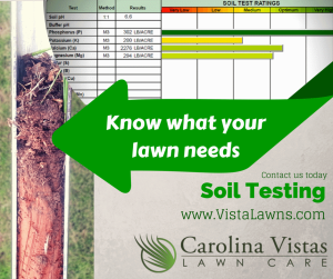 Carolina Vistas Lawn Care - Soil Testing