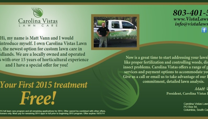 Fall Lawn Care Special – Start 2015 with a Free Lawn Treatment!